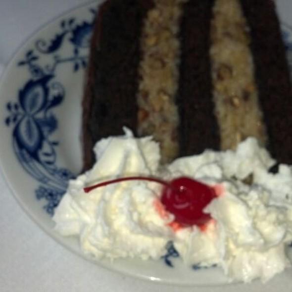 German Chocolate Cake @ The Bavarian Inn Lodge & Restaurant