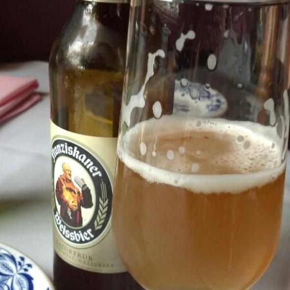 Franziskaner Hefe-Weiss @ The Bavarian Inn Lodge & Restaurant