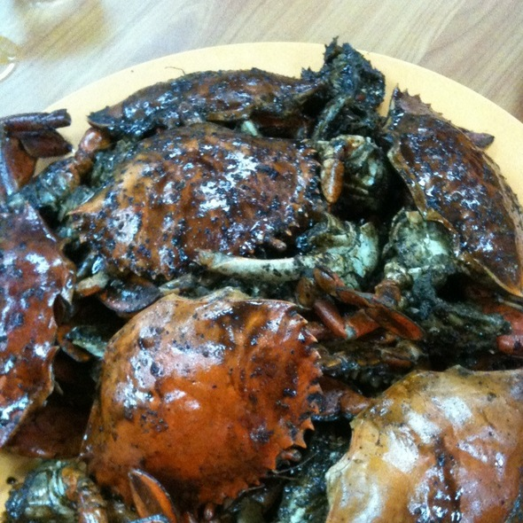 Black Pepper Crabs @ Eng Seng Restaurant