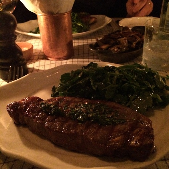 New York Strip @ Standard Grill