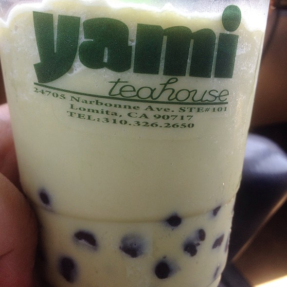 Macha Smoothie @ Yami Teahouse