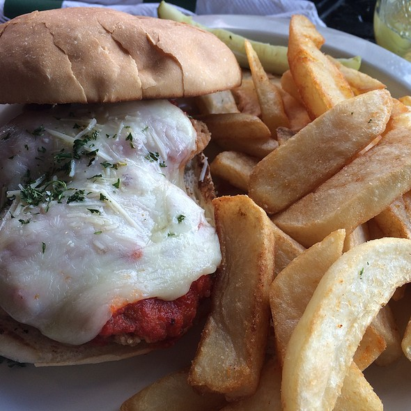 Chicken Parmesan Sandwich @ Downtown Grill & Brewery