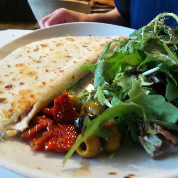 Piadina Funghi E Pancetta
