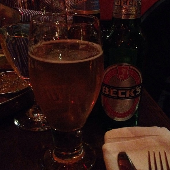 Becks Beer @ Ruchi Restaurant