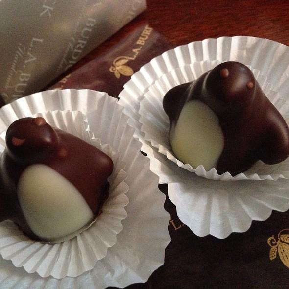 Chocolate Penguins @ L.A. Burdick