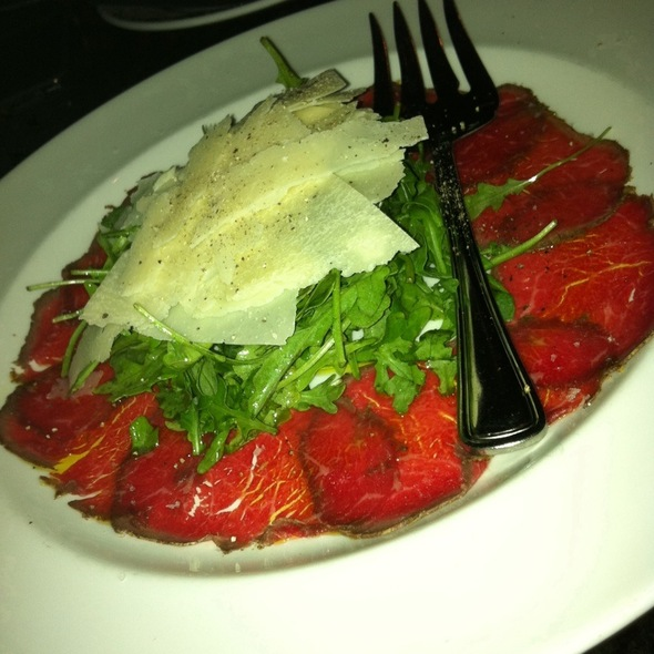 Wagyu Beef Carpaccio @ The Capital Grille