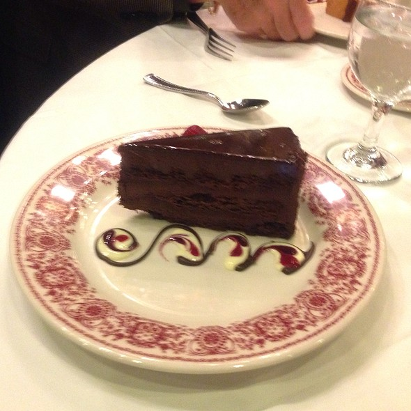 Chocolate Mousse Cake - Sparks Steak House, New York, NY