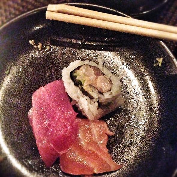 Sashimi And Yellowtail Roll - Sushi Roku - Santa Monica, Santa Monica, CA