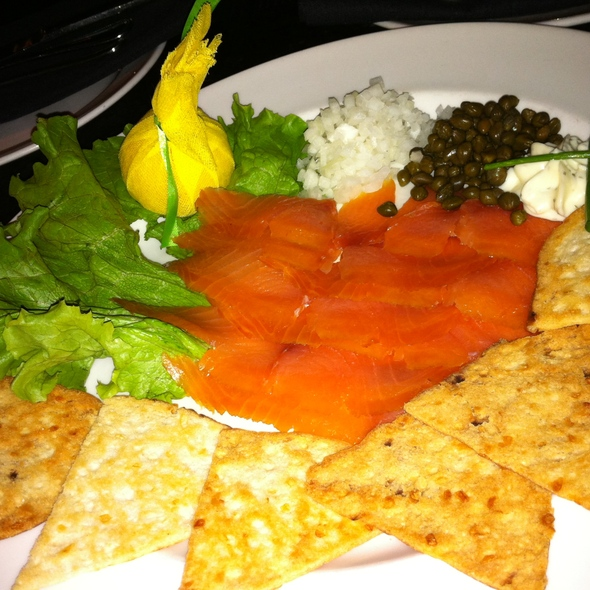 Smoked salmon @ The Capital Grille