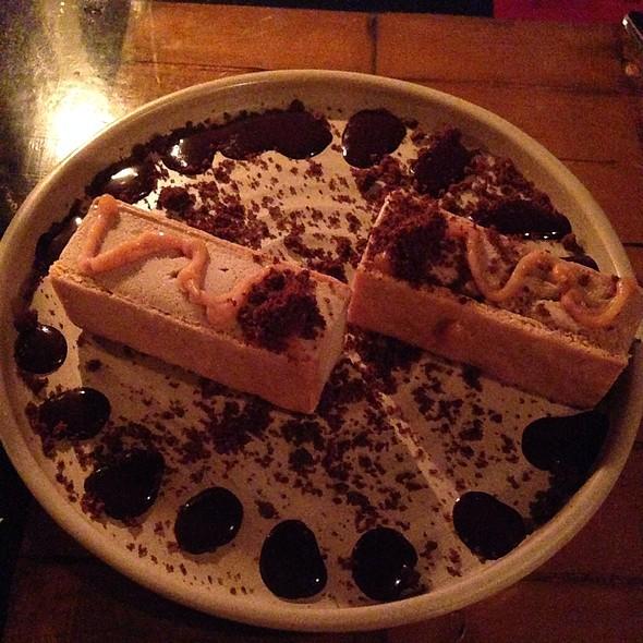 Speculoos Cookie & Coffee Ice Cream Sandwich- Salted Caramel, Mocha Granola