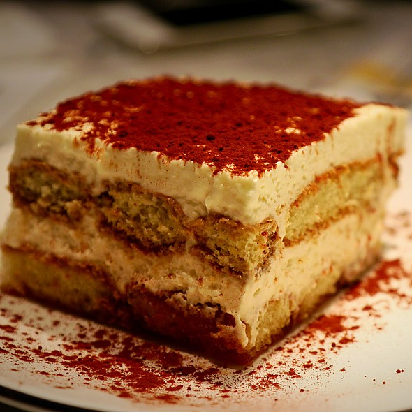 Tiramisu @ Pizza Marzano