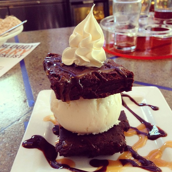 Dragon's Milk Brownie