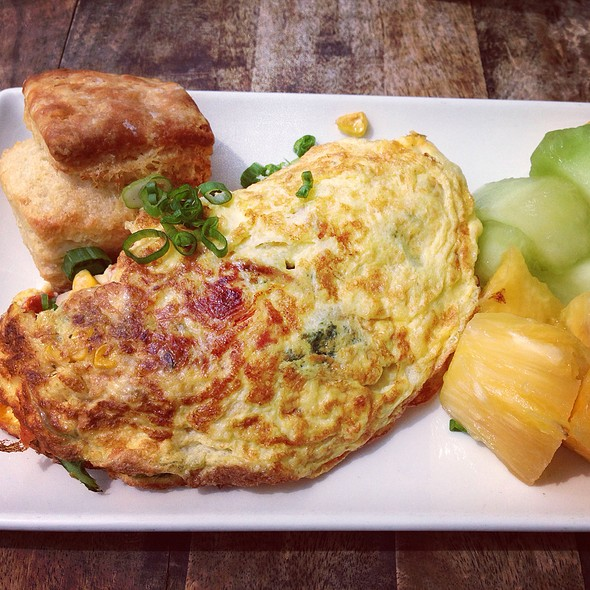 Today's Omelette - Yardbird Southern Table & Bar, Miami Beach, FL