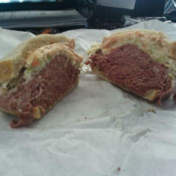 Corned Beef Sandwich @ Bread Basket