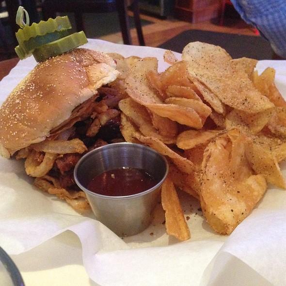 Beef Brisket Sandwich - Weber Grill - Schaumburg, Schaumburg, IL