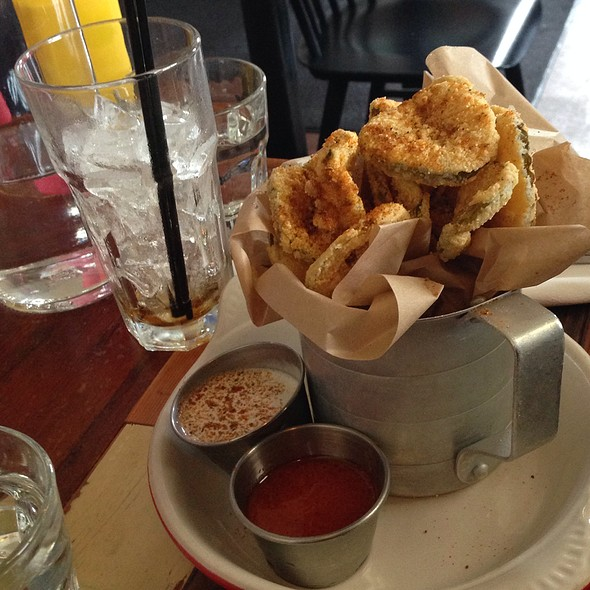 Buttermilk Fried Pickles - The Hollywood Tavern, Woodinville, WA
