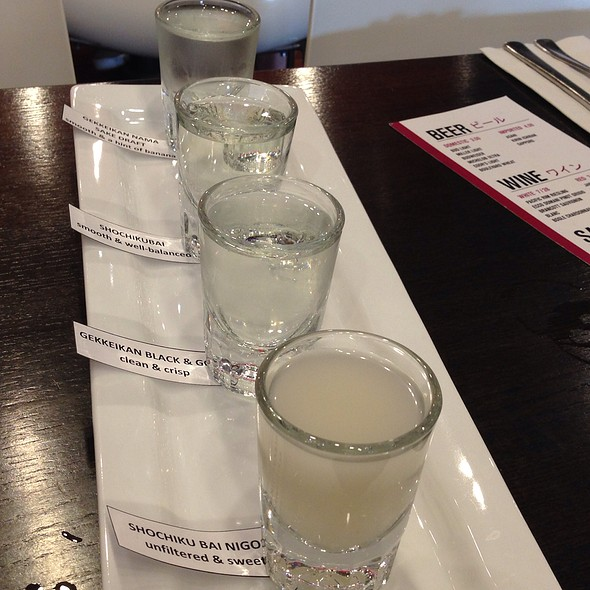 Sake Flight