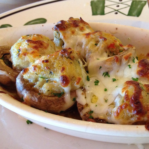 Stuffed Mus @ Olive Garden