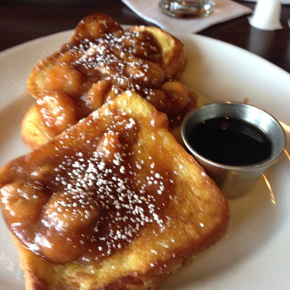 Bananas Foster  French Toast @ Bella Costa