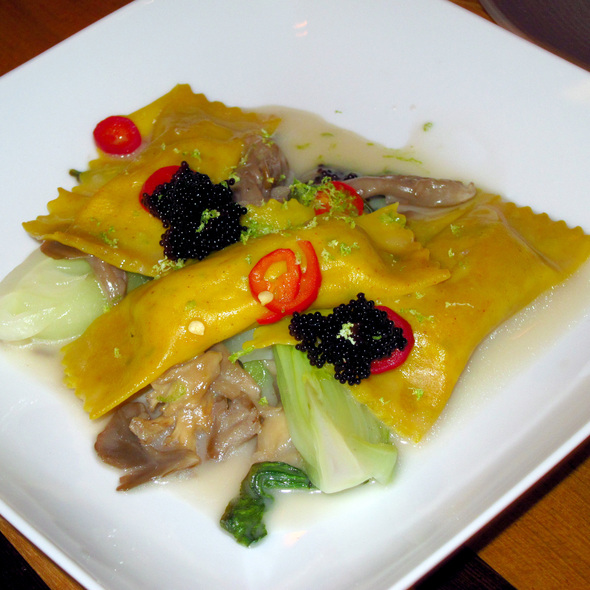 Dungeness Crab Agnolotti @ GT Fish & Oyster