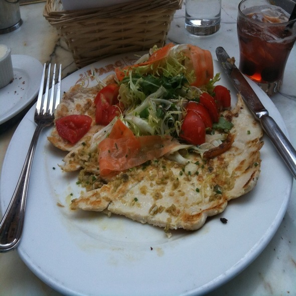 Chicken Paillard Salad @ Parc