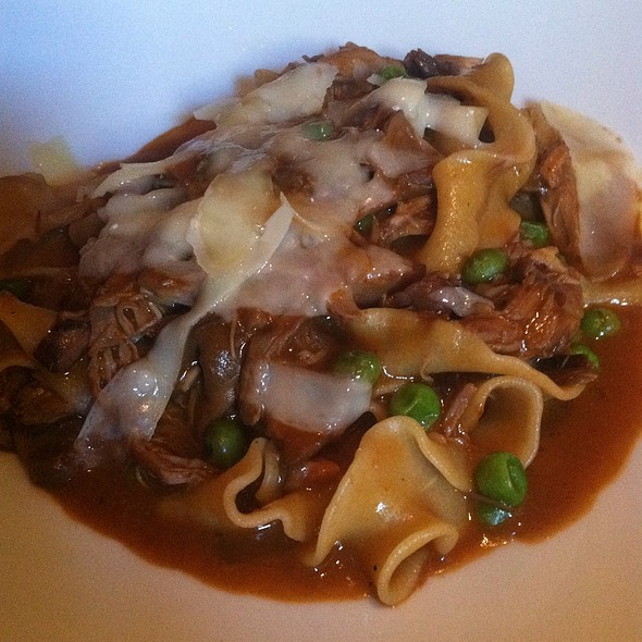 Parppadelle With Braised Duck - Sociale, San Francisco, CA