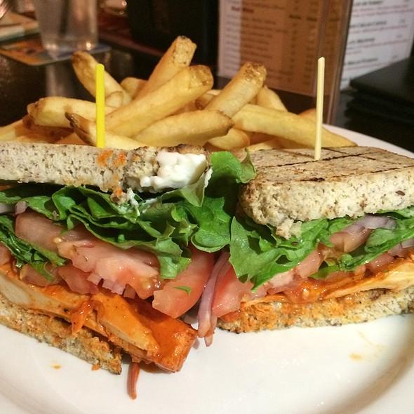 Toasted Chiken Sandwich @ Trinity Hall Irish Pub & Restaurant
