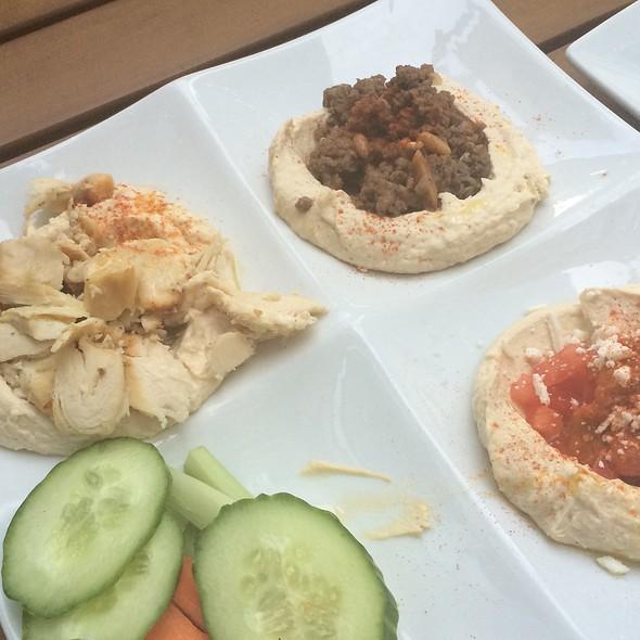 Hommus Sampler - Lebanese Taverna - Baltimore, Baltimore, MD
