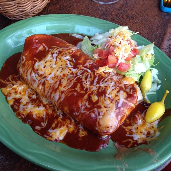 Wet Bean And Cheese Burrito @ Casa De Bandini
