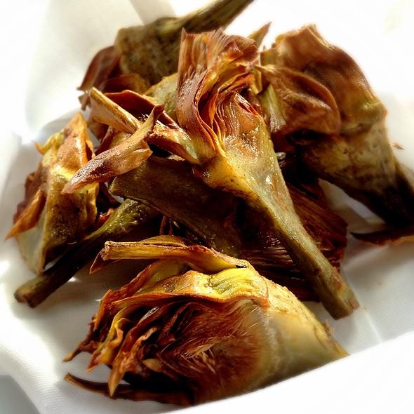 Fried Artichokes - Cafe Fiorello, New York, NY