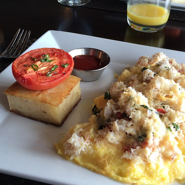 Crab Frittata - Six Seven Restaurant & Lounge, Seattle, WA