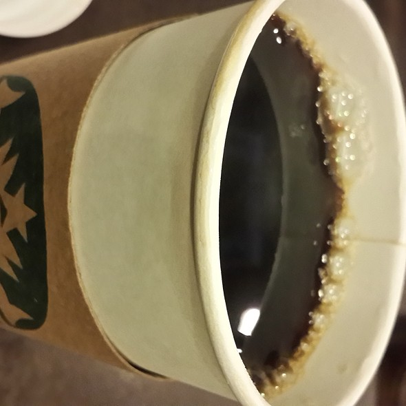 Filtered Coffee @ Starbucks