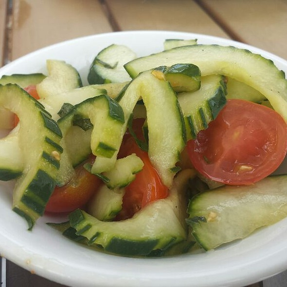 Cucumber Tomato Salad @ Fisher's Dockside