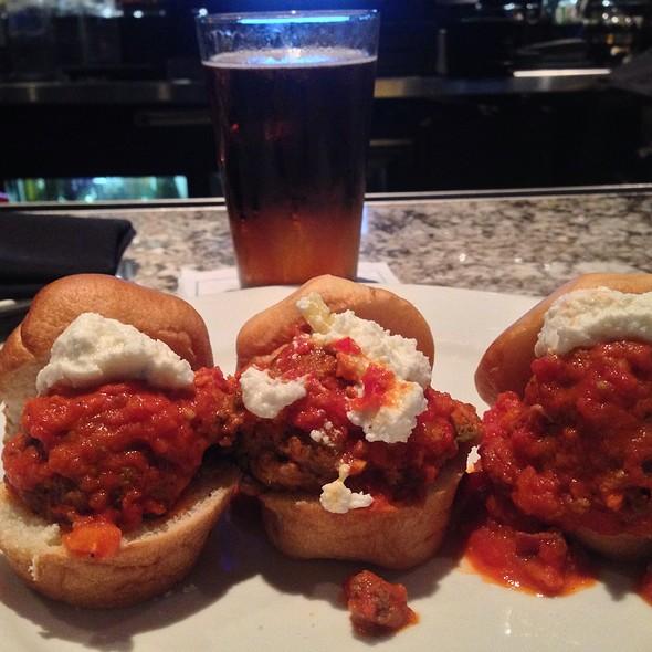 Meatball Sliders - Frankie Bones Restaurant & Lounge - Hilton Head Island, Hilton Head Island, SC