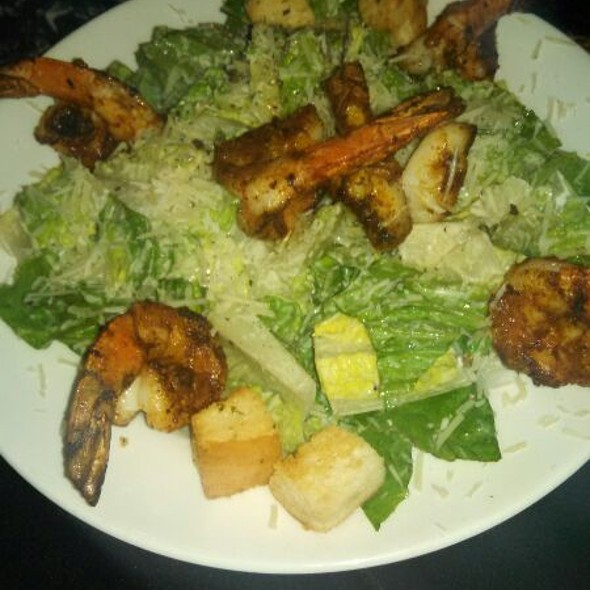 Caesar Salad With Extra Jumbo Shrimp  - Del Frisco's Double Eagle Steak House - Philadelphia, Philadelphia, PA