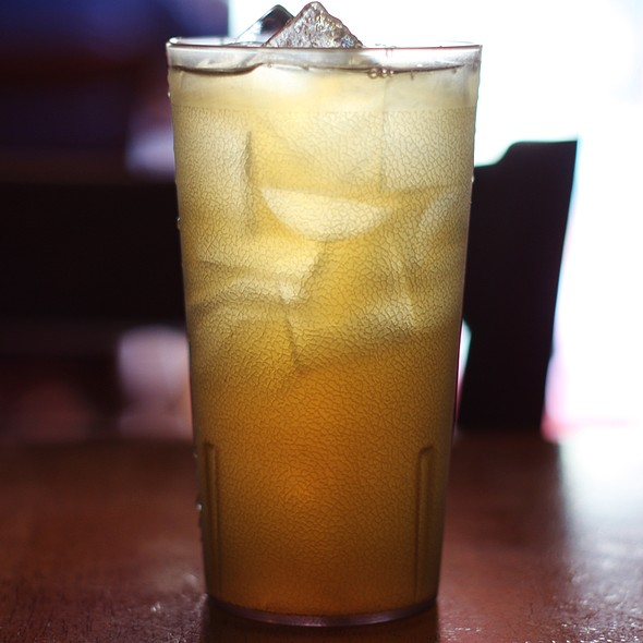 Ginger Sweet Iced Tea