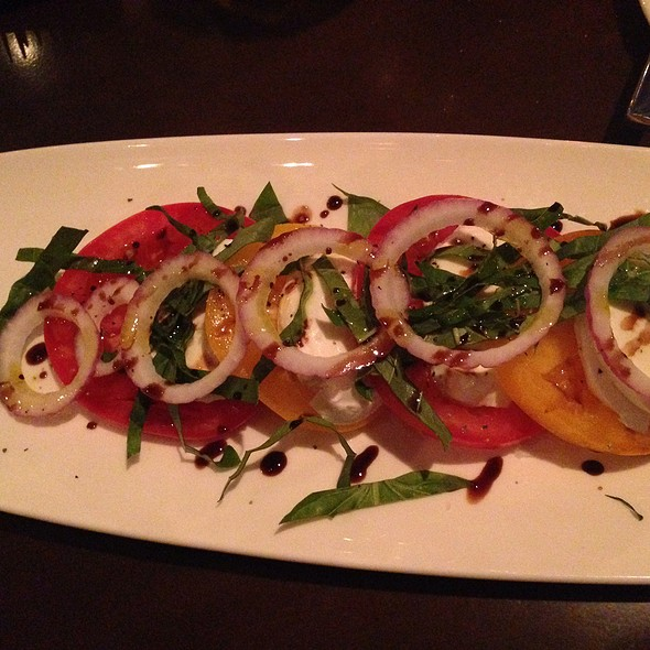Heirloom Tomatoes With Fresh Mozzarella And Sea Salt - 333 Belrose, Radnor, PA