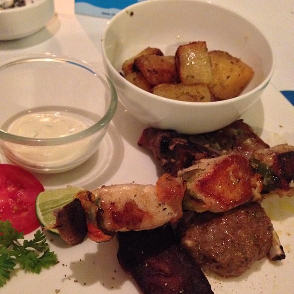 Special Mixed Grill @ mykonos taverna, bali