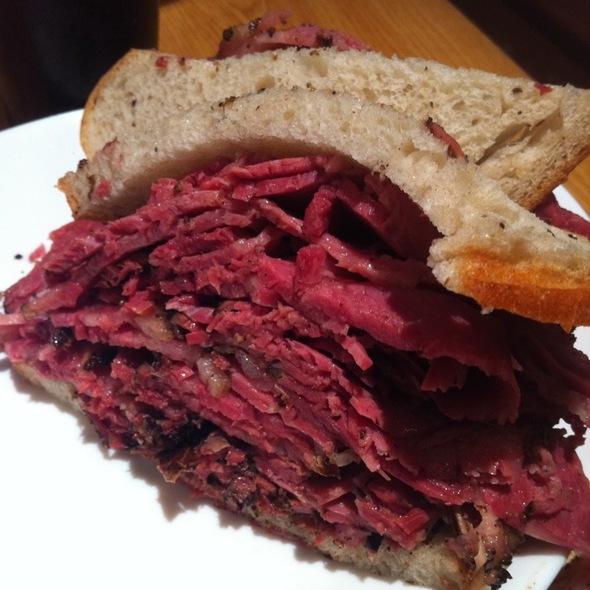 Pastrami Sandwich @ Carnegie Deli