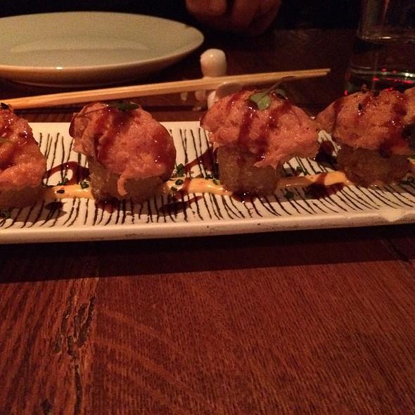 Crispy Rice With Tuna Tartare @ Tao Downtown