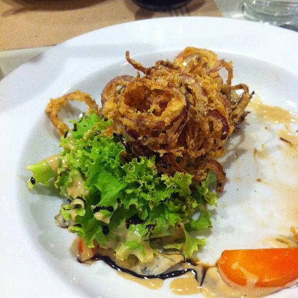 Foie Gras Salad @ BAMBA Modern Bistro