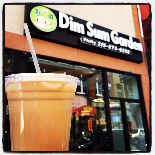 Milk Tea @ Dim Sum Garden