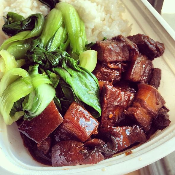 Pork Belly In Brown Sauce @ Dim Sum Garden