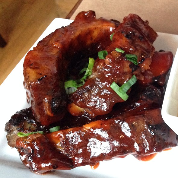 Brick Bbq Ribs @ Small Plates Detroit