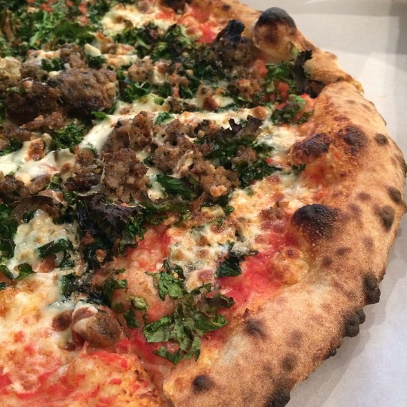 Sausage Pizza @ Nomad Pizza