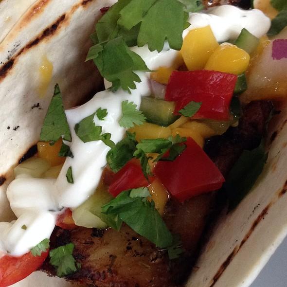 Baja Style Fish Taco @ Small Plates Detroit