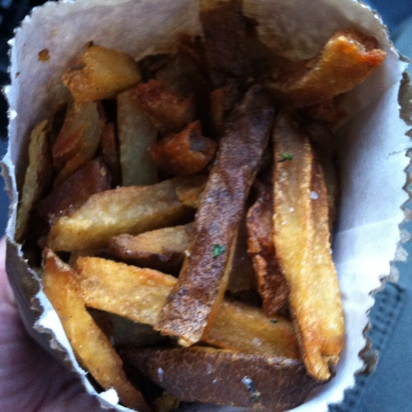 Seasoned French Fries @ Leslieville Pumps