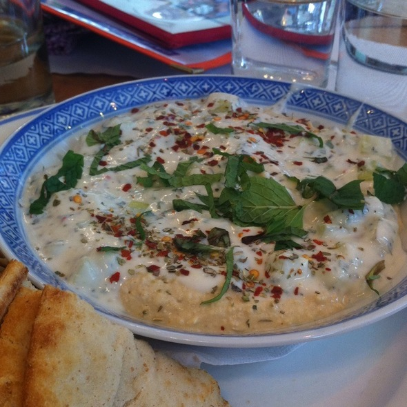 Spicy Hummous And Mint @ Cafe Gitane at The Jane Hotel