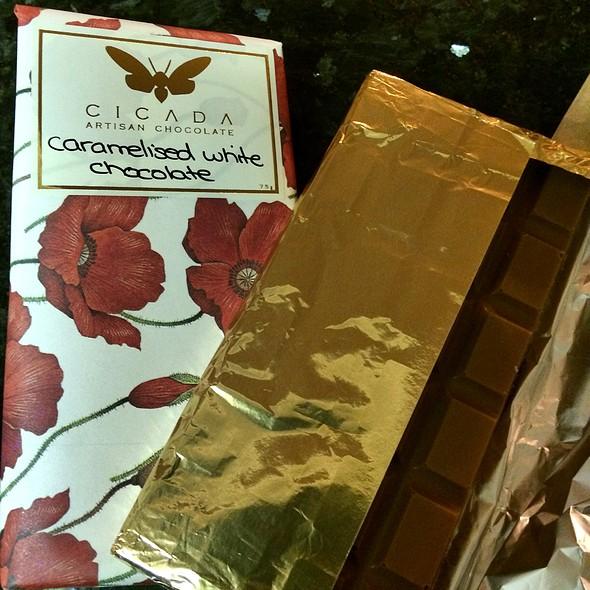 Caramlised White Chocolate @ Cicada