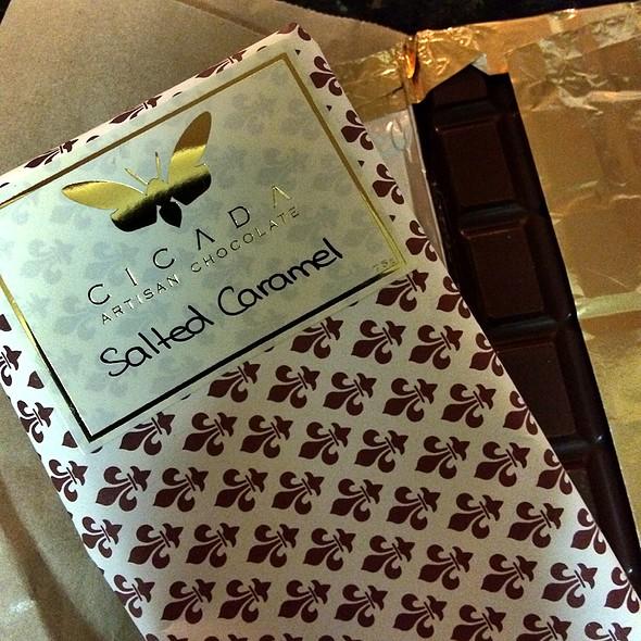 Salted Caramel Chocolate @ Cicada